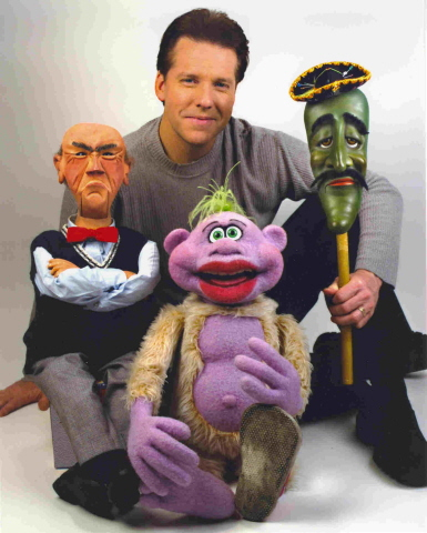 pics of jeff dunham puppets. a guy named Jeff Dunham.